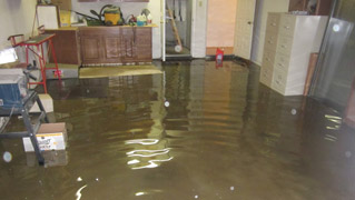 flooding damage restoration